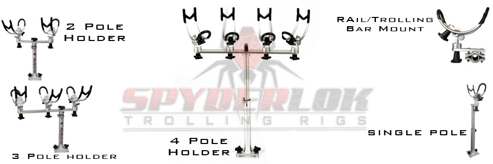 Spyderlok R100 Trolling Rigs -Starting at $69.95